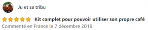 Commentaire Amazon capsule x 1
