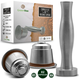 Greenvea capsules réutilisables kit x 2