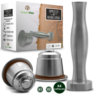 Greenvea capsules réutilisables kit x 4